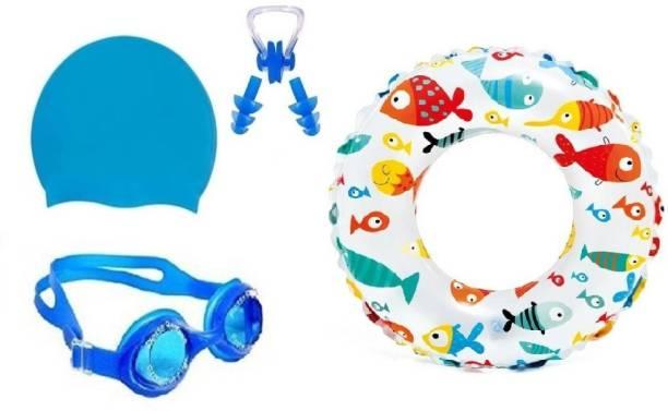 Kamni Sports swimming kit cap ,googles ,ear plugs ,swimming tube CB-4 Swimming Kit