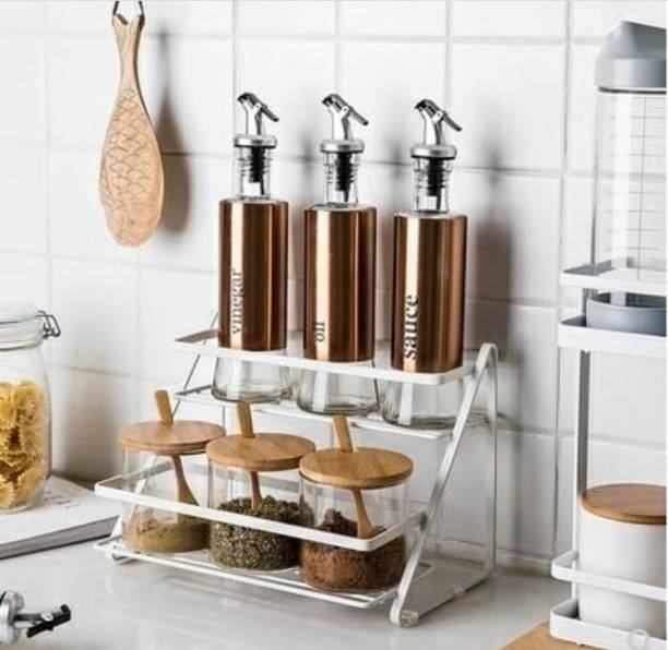 Xllent 2 step counter Containers Kitchen Rack