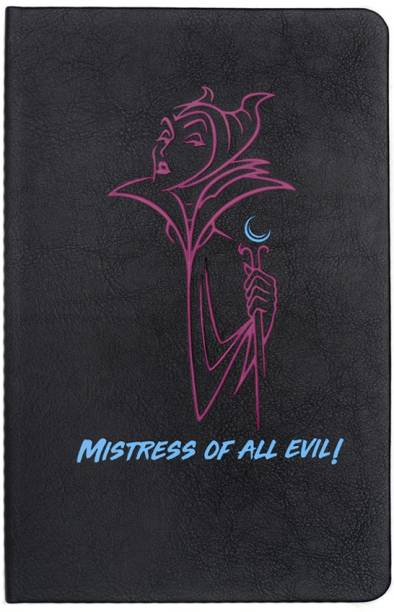 doodle Villain-Maleficent Hard Bound A5 Notebook Ruled 192 Pages