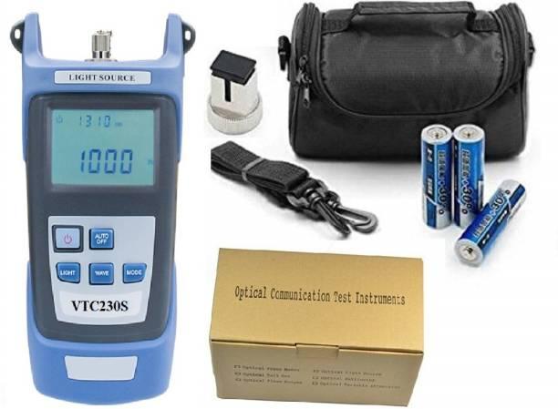 Techtest VTC230S Handheld Fiber Optic Tools Optical Laser Source Digital Multimeter