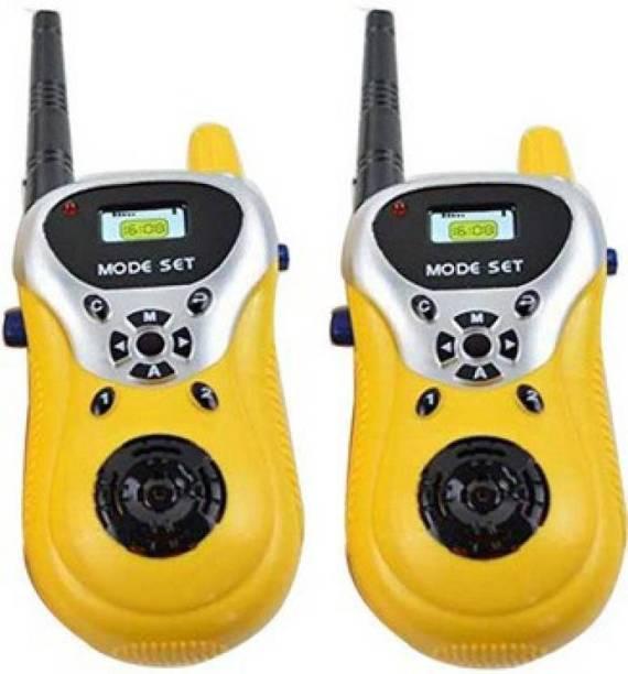 oongly 2 Player Walkie Talkie Phone Toy | Walkie Talkie Toy | Walkie Talkie Set for Kids, Good Range