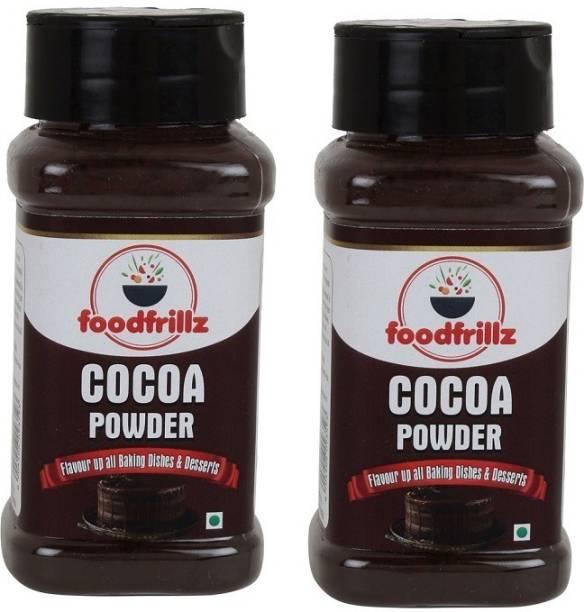 foodfrillz COCOA POWDER unsweetened combo pack of 2 Cocoa Powder