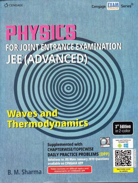 CENGAGE PHYSICS WAVES AND THERMODYNAMICS (3-Edition,2019-20) FOR JEE MAINS & ADVANCED WITH CHAPTERWISE/TOPICWISE DAILY PRACTICE PAPER (DPP)-WITH SOLUTIONS