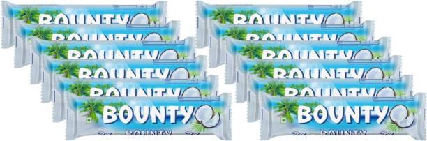 BOUNTY Coconut Filled Chocolate Bar(57g x 12) Bars