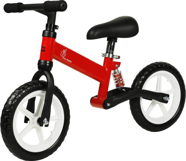 R for Rabbit Trainer Balance Bike for 2-5 Year-Old Toddlers(Red) 14 T Road Cycle