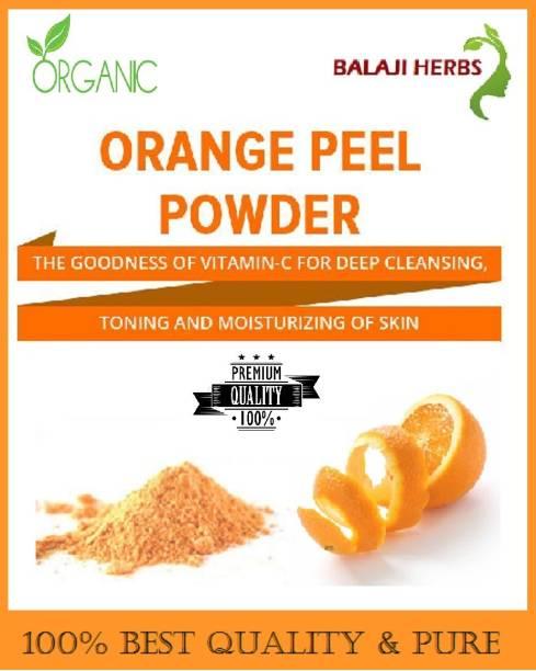 BALAJI HERBS Orange Peel Powder for Skin Whitening and As a Toner