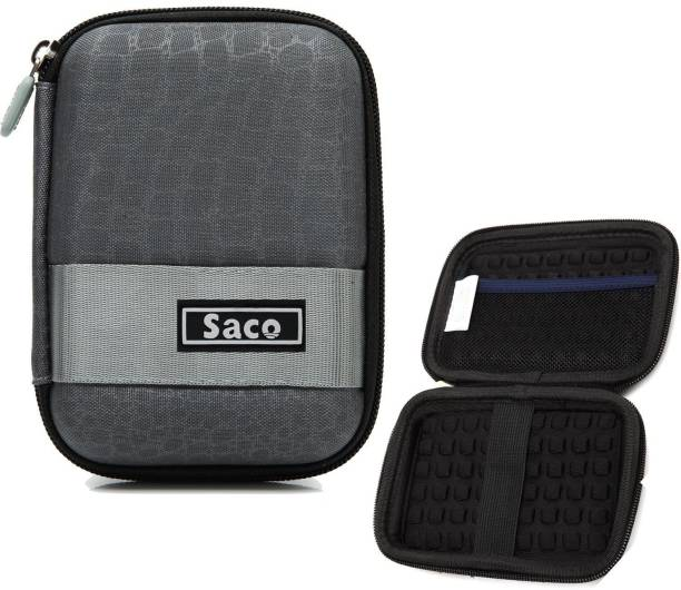 Saco Wallet Case Cover for WD My Passport 1TB Portable External Hard Disk Hard Drive Case Pouch Cover