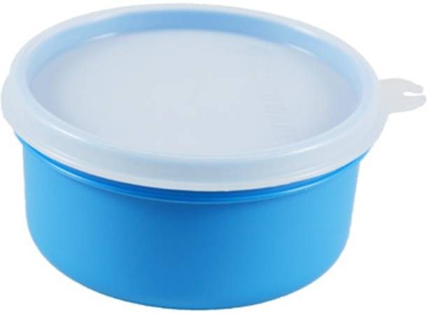 JM SELLER Mini Round Box 350ml 1 Containers Lunch Box (350 ml)  - 350 ml Plastic Grocery Container