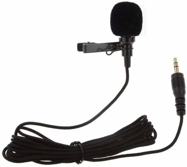TECHGEAR 3.5mm Clip Microphone For   Collar Mike for Voice Recording Microphone