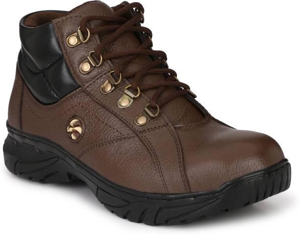 Peclo 9985 Steel Toe PVC Safety Shoe
