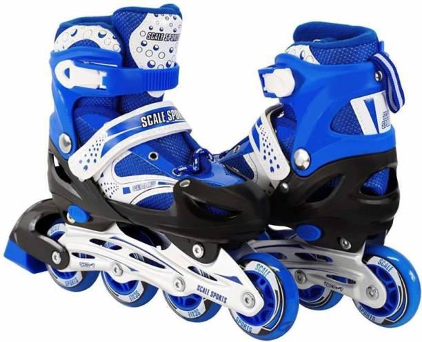 M-Alive Roller Skate In-line Skates Size Adjustable In-line Skates - Size 4-8 UK