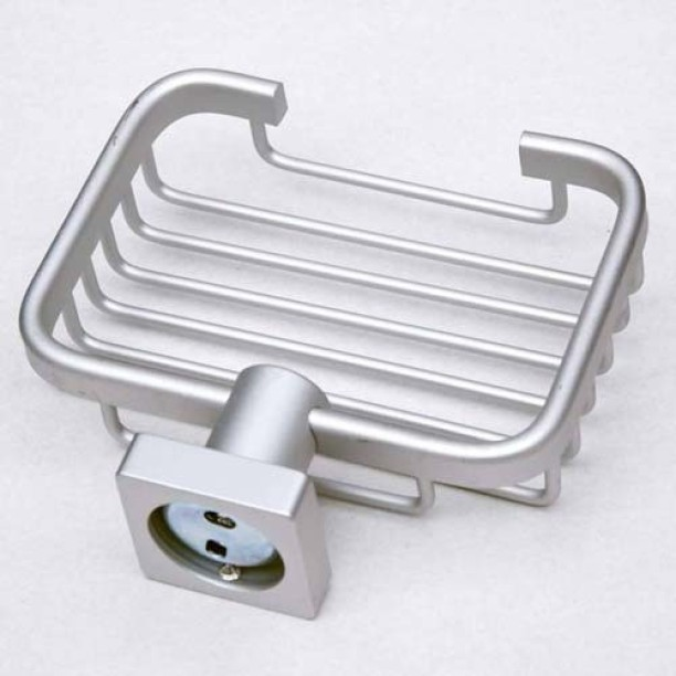 Bathroom Stainless Steel Double Layer Soap Dish Soap Holder Box Case Home New