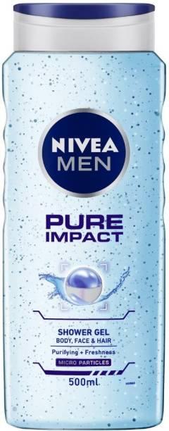 NIVEA MEN Shower Gel, Pure Impact