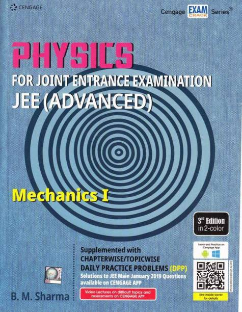 CENGAGE PHYSICS MECHANICS-I (3-Edition,2019-20) FOR JEE MAINS & ADVANCED WITH CHAPTERWISE/TOPICWISE DAILY PRACTICE PAPER (DPP)-WITH SOLUTIONS