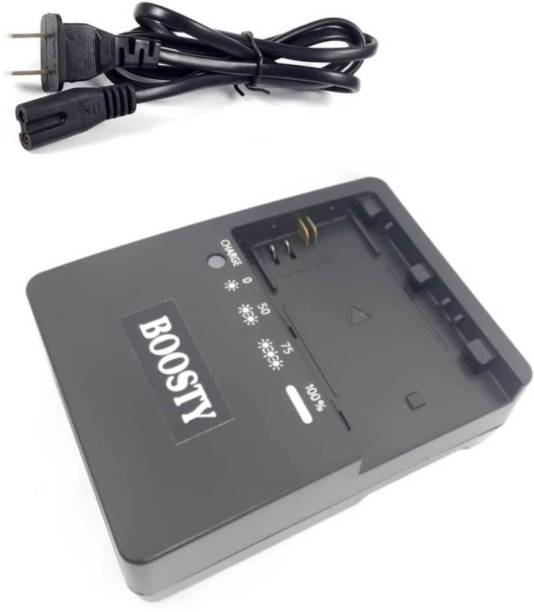 BOOSTY Battery Charger - for LP-E6, LP-E6N and Canon EOS 5DS R, EOS 5DS, EOS 5D Mark III, EOS 5D Mark II, EOS 6D, EOS 7D, EOS 7D Mark II, EOS 60D, EOS 60Da, EOS 70D  Camera Battery Charger