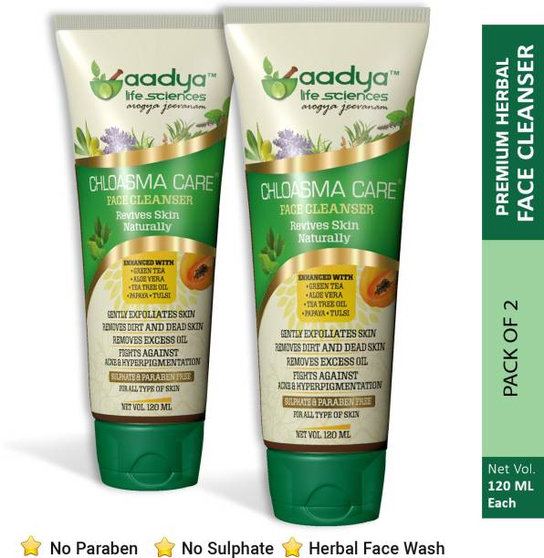 Aadya Life Sciences LLP Face Cleanser (Pack of 2)