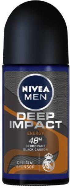 NIVEA MEN Deep Impact Energy Roll-On Deodorant Roll-on  -  For Men