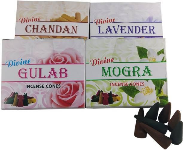 Stylewell Set Of 4 Pcs Multi Fragrance Divine Premium Dry Dhoop Dhoop