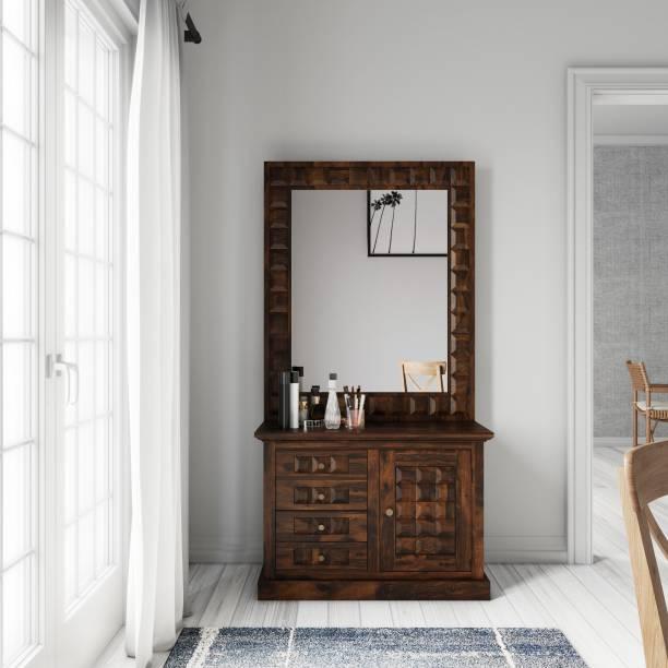 Flipkart Perfect Homes Sheesham Wood Solid Wood Dressing Table