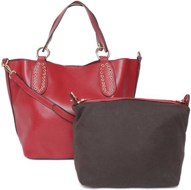 Dressberry Women Maroon Hand-held Bag