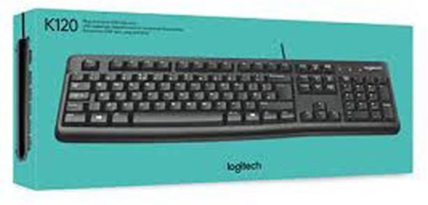 Logitech K120 Wired Keyboard Wired USB Desktop Keyboard