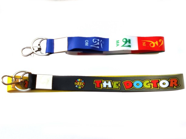 TV Animation K-On /& Friends Characters Fabric Keychain Lanyard