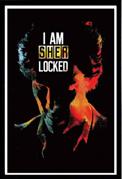 I AM SHERLOCKED SA 300 GSM PAPER POSTER Photographic Paper