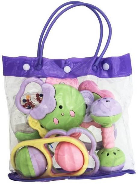Amaze Sport Baby Bag Rattle set Rattle (Multicolor) Rattle