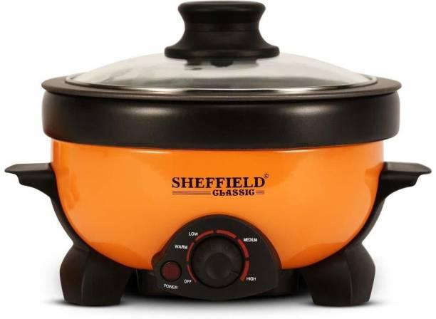 SHEFFIELD KMK-SH-5003 Travel Cooker, Deep Fryer, Egg Boiler, Rice Cooker