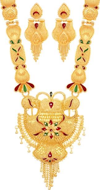 5b709c0c0d550 1 Gram Gold Necklace Sets - Buy 1 Gram Gold Necklace Sets online at ...