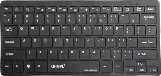 QUANTUM QHM7307 MINI MULTIMEDIA KEYBOARD Wired USB Laptop Keyboard