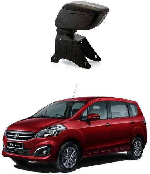PRTEK Car Centre Console Hand Armrest Universal(Black) 0047 Car Armrest