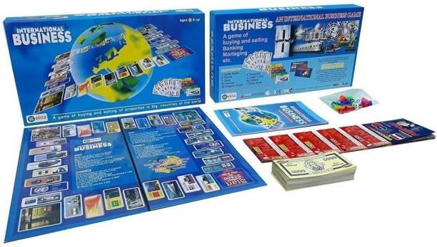Kidsor Business International Board Game 2-6 Strategic Game Strategy & War Games Board Game Educational Board Games Board Game
