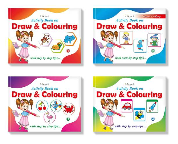 Drawing Practice Books Collections by InIkao - How to Draw Step by Step Drawing Activity Books