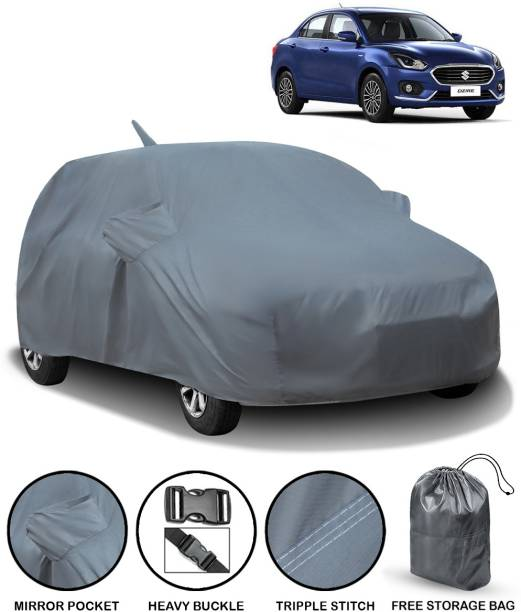 CARZEX Car Cover For Maruti Suzuki Swift Dzire (With Mirror Pockets)