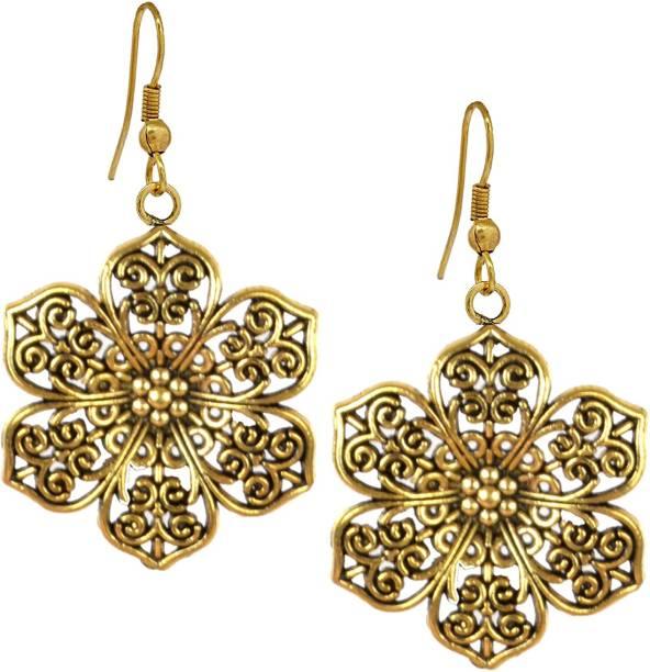 78608e64e61 DarkLady Women s Fashion Oxidized Earrings Daily Wear Girls Clip-on Earrings  German Silver Drops