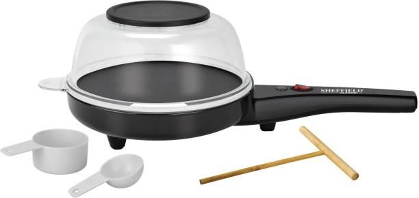 SHEFFIELD CLASSIC multi specialty Oil Free Popcorn/Snack Maker, Dosa/Chapati Maker, Starter/Omelet Maker . KMK-SH-1000 1 L Popcorn Maker