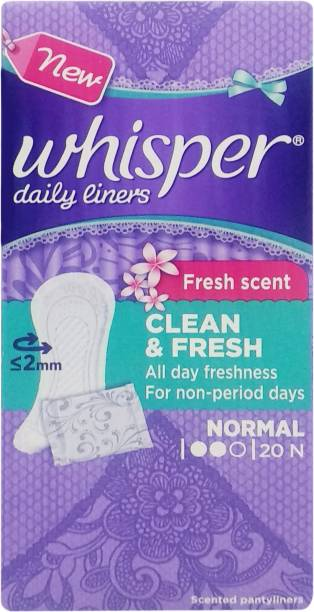 Whisper Clean and Fresh Pantyliner