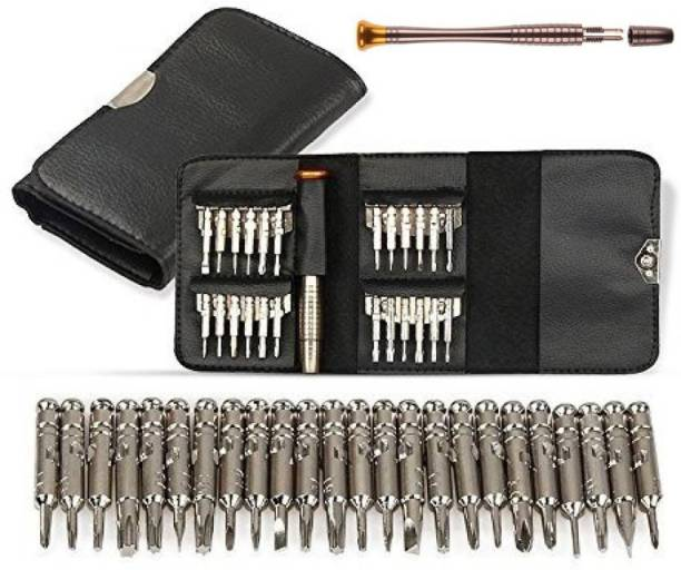 Techtest 25 in 1 Precision Screwdriver Set For I Phone , Laptop , mobile repairing Tools Kit , Laptop And All Mobile repairing Tools Standard Screwdriver Set For Mobiles, Laptops, Precision Screwdriver Set