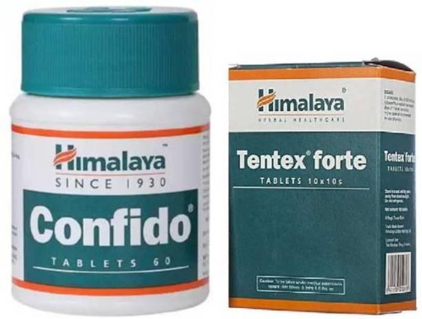 Himalaya Herbals Tentex Forte & Confido (Combo)