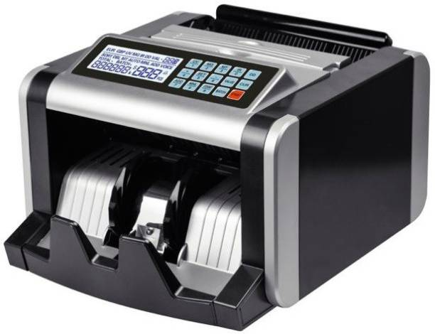 Drop2Kart Note Counting Machine With Fake Note Detector, Heavy Duty Machine with LCD Display Note Counting Machine