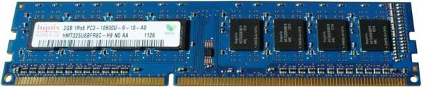Hynix DDR3 1333Mhz Desktop RAM DDR3 2 GB (Dual Channel) PC (HMT325U6BFR8C-H9 , PC3 10600U)