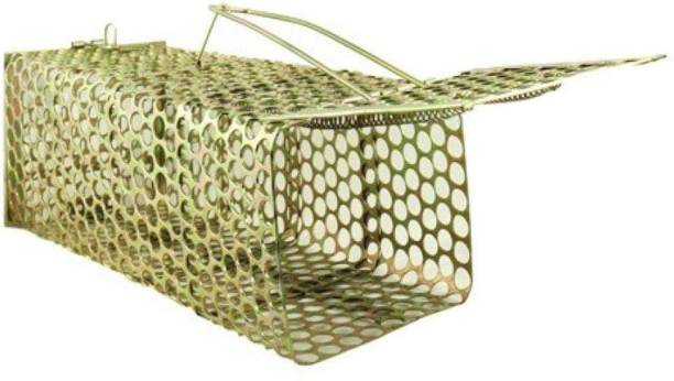popo Rat, Mouse Trap/Catcher Iron Big Size - Ultimate Solution to All Rat Problems Live Trap