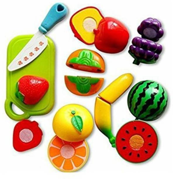 RIO Fruits Cutting Play Toy Set (Multicolor)