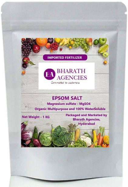 Bharath Agencies - Pure Organic Epsom Salt - Magnesium Sulphate - Plant Food - 250 Grams - Fertilizer