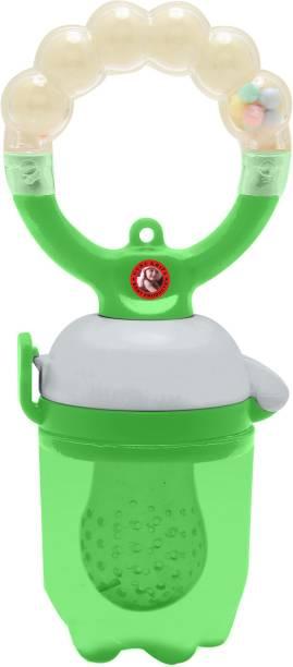 Guru Kripa Baby Products Presents Ultra Care Fresh Fruit and Food Feeder with Silicone Sac / Veggie Feed Mesh Nipple / Teething Food Pacifier Nibbler / Baby Feeding Tool Soother