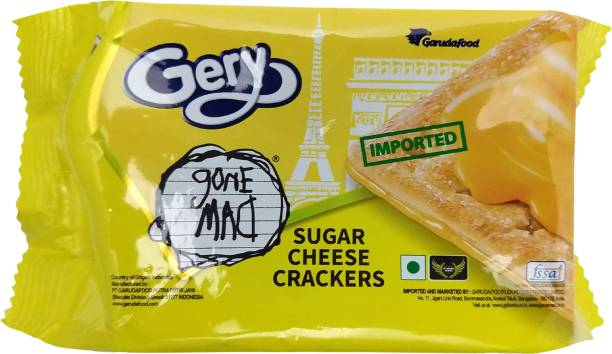 Gone Mad Gery Sugar Cheese Crackers