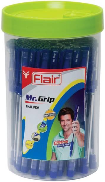 FLAIR Mr.Grip Jar of Ball Pen
