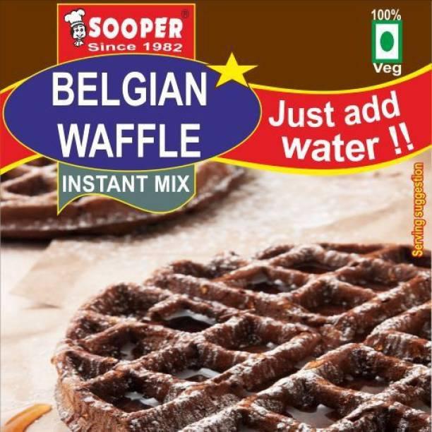 SOOPER BELGIAN WAFFLE PREMIX SWISS CHOCOLATE 1 KG x 7 COMBO 7 kg