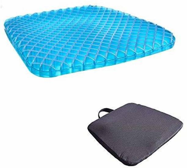 Wonder World ®Soft Gel Mat for Office Chair, Back Support, Sciatica and Tailbone Pain Lumbar Support